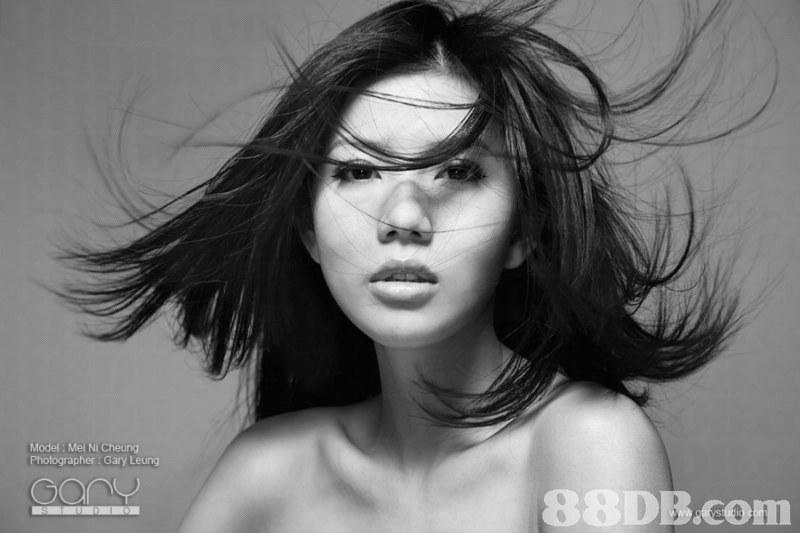 Model Mel Ni Cheung Photographer : Gary Leung,black and white,eyebrow,beauty,eyewear,model