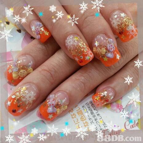 ac 8DB.com  nail,finger,hand,orange,nail care