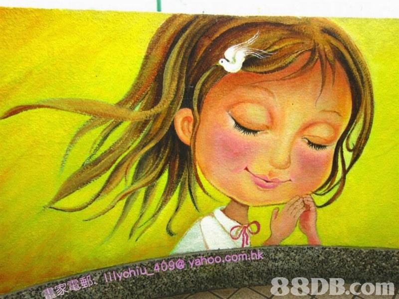 REB. Ilychiu_409@ yahoo.com.hk   Face,Painting,Head,Yellow,Nose