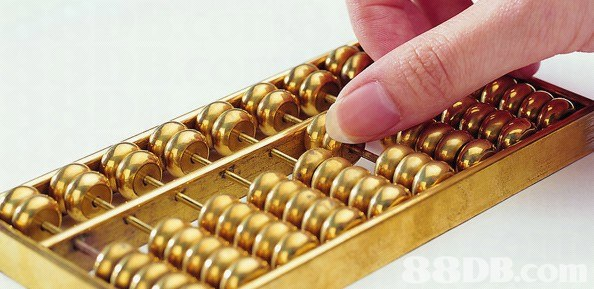 Abacus,Metal,Toy,Brass,Bead