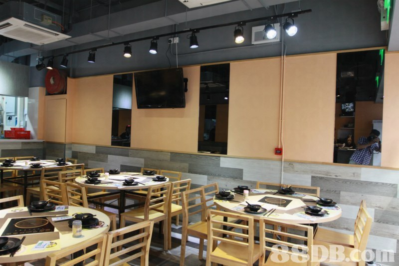 8EDB.com  Building,Restaurant,Cafeteria,Food court,Room