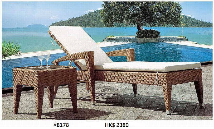 HK$ 2380 #8178,Outdoor furniture,Furniture,Table,Sunlounger,Outdoor table