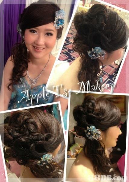 hair,hairstyle,human hair color,hair accessory,bride