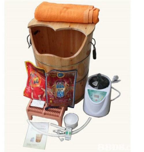熏蒸,橡木熏蒸桶 泡腳+熏蒸雙功能, steam, Anion steam kit, sauna,足療, 熏蒸機,桑拿