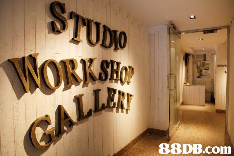 STUDO WORKSHOW CALL ERY   Wall,Font,Room,Building,Interior design