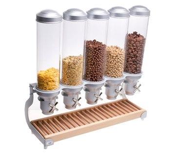 yogurt coffee candy cereal dispenser 88db no 1. Black Bedroom Furniture Sets. Home Design Ideas