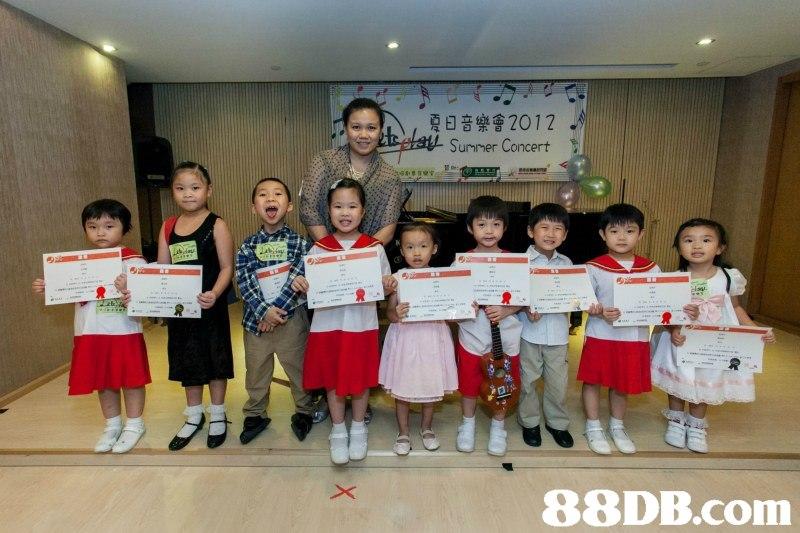 夏日音樂會2012 .,class,school,recreation,child,competition