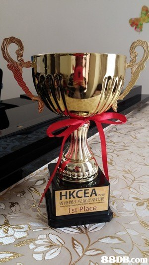 HKCEA 1st Place 88DB.com  trophy