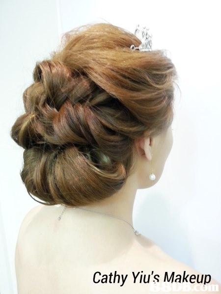 Cathy Yiu's Makeup,hair,hairstyle,bun,long hair,chignon