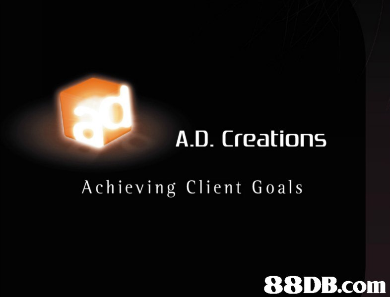 A.D. Creations Achieving Client Goals   text,lighting,font,brand,