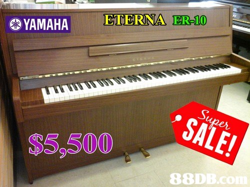 YAMAHA ETERNA ER-10 S5,500 88DB.c  musical instrument