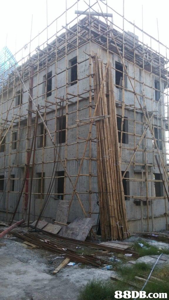 Scaffolding,Architecture,Building,Facade,Reinforced concrete