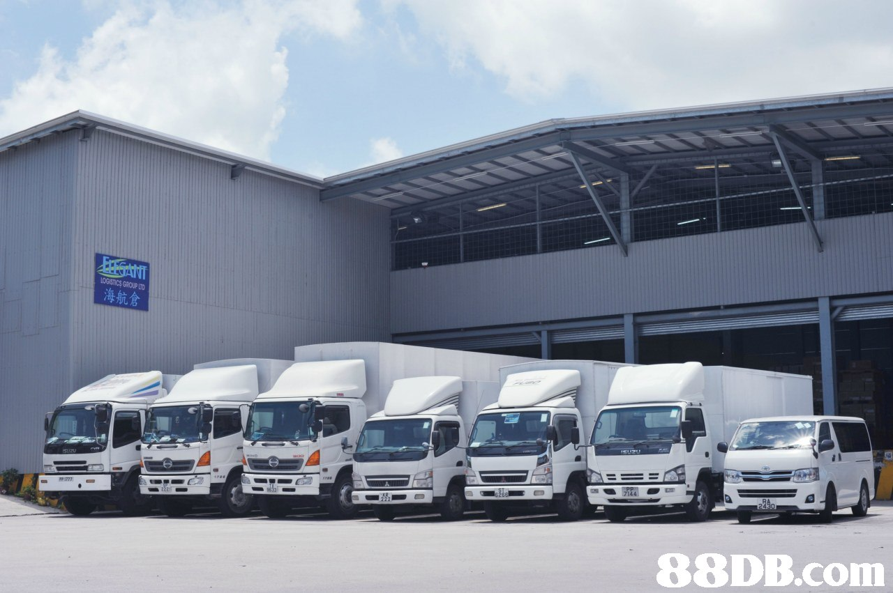 LOGISTICS GROUP LTD 海航倉   transport,motor vehicle,vehicle,luxury vehicle,mode of transport