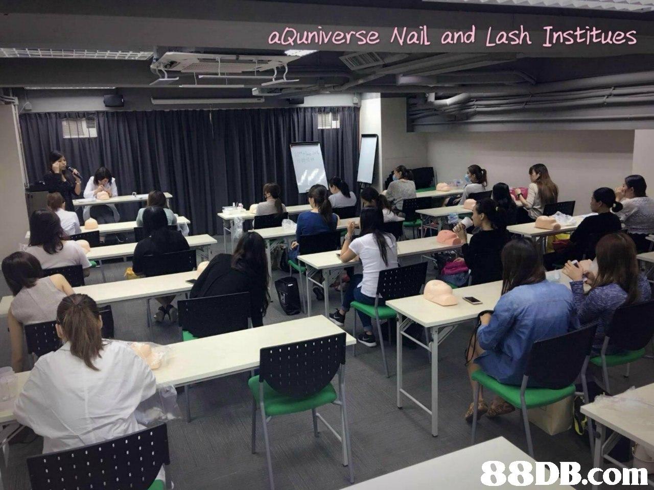 aßuniverse Nail and Lash Institues,seminar,