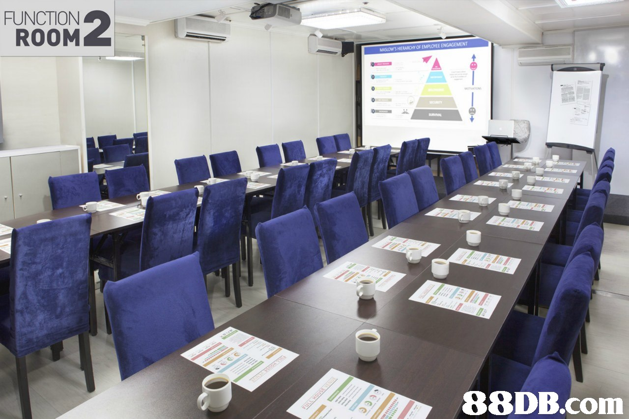 FUNCTION ROOM MASLOWS HIERARCHY OF EMPLOYEE ENGAGEMENT 88DB.com  classroom