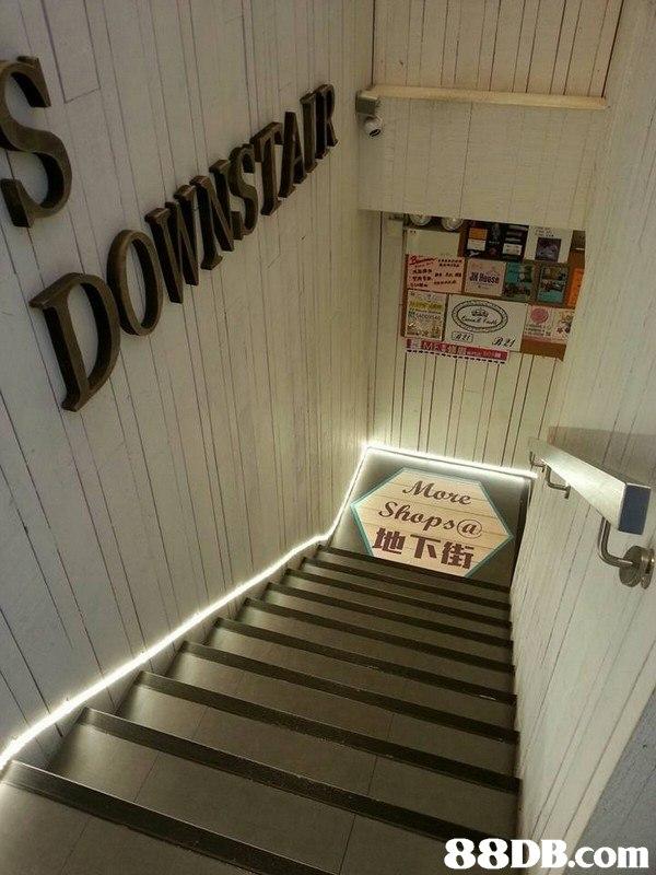 28 Baase DOWASITAIR MER More Shops@ 地下街   Stairs,Room,