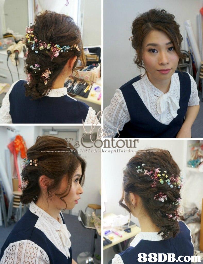 NiS's Makoup Iairdo 88DB.co,hair,hairstyle,hair accessory,fashion accessory,headpiece
