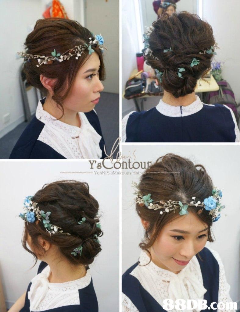 Ys Conto n YenNiS'sMakeupy Hair .C,hair,headpiece,hair accessory,fashion accessory,jewellery