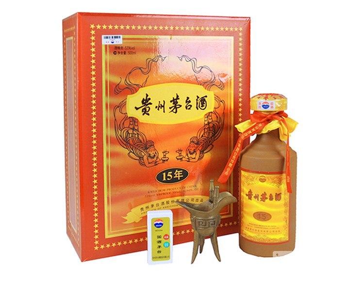 、貴州茅台酒 15年 A:  product,liqueur,product,