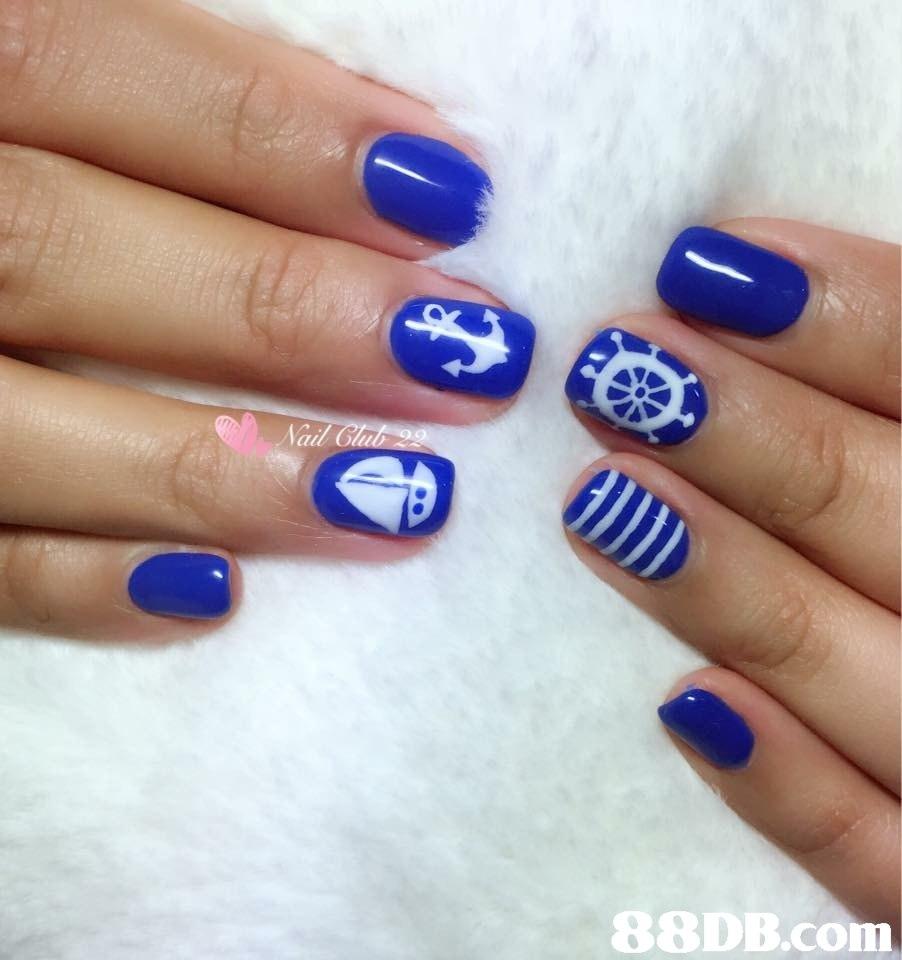 blue,nail,nail polish,finger,nail care