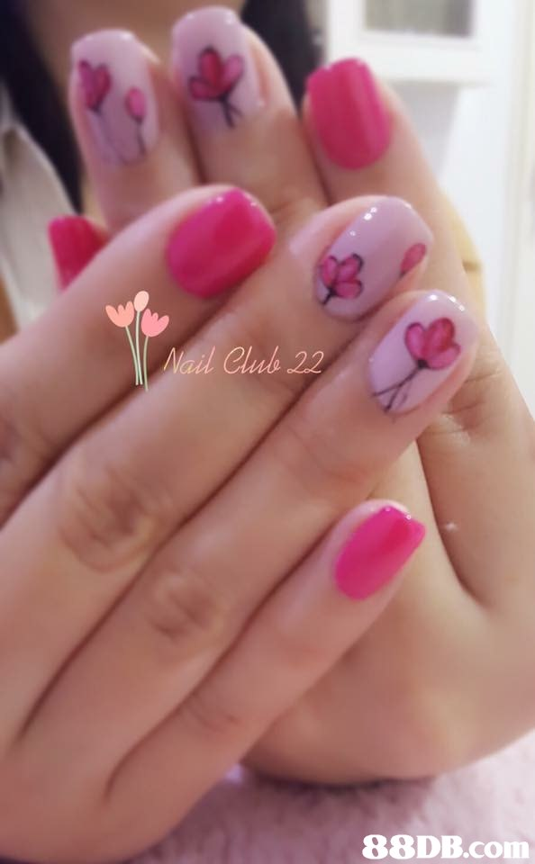 Nail Club 22   nail,finger,pink,nail care,hand