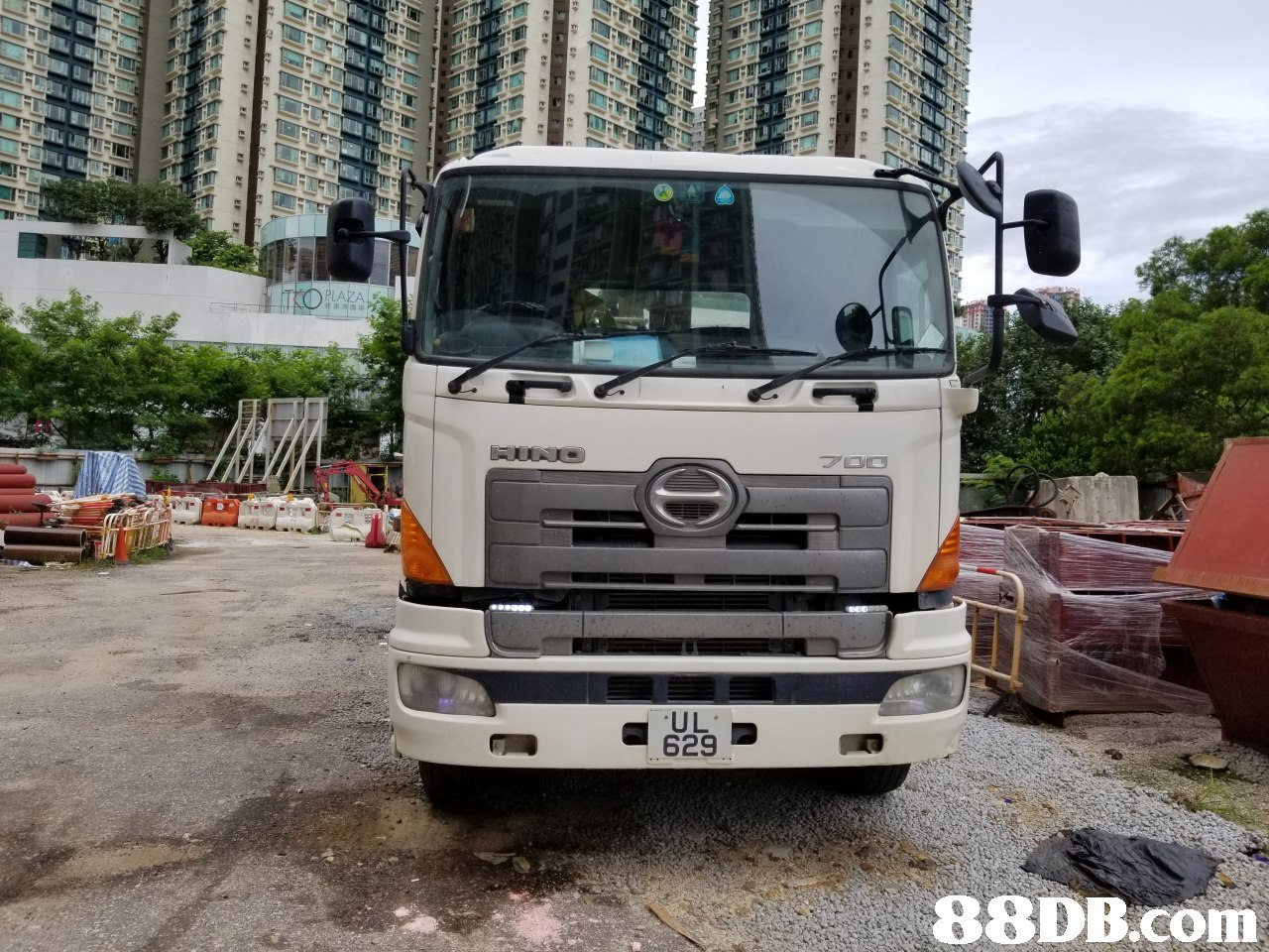 rPLAZA HINO 7D0 UL 629   Land vehicle,Vehicle,Transport,Commercial vehicle,Truck