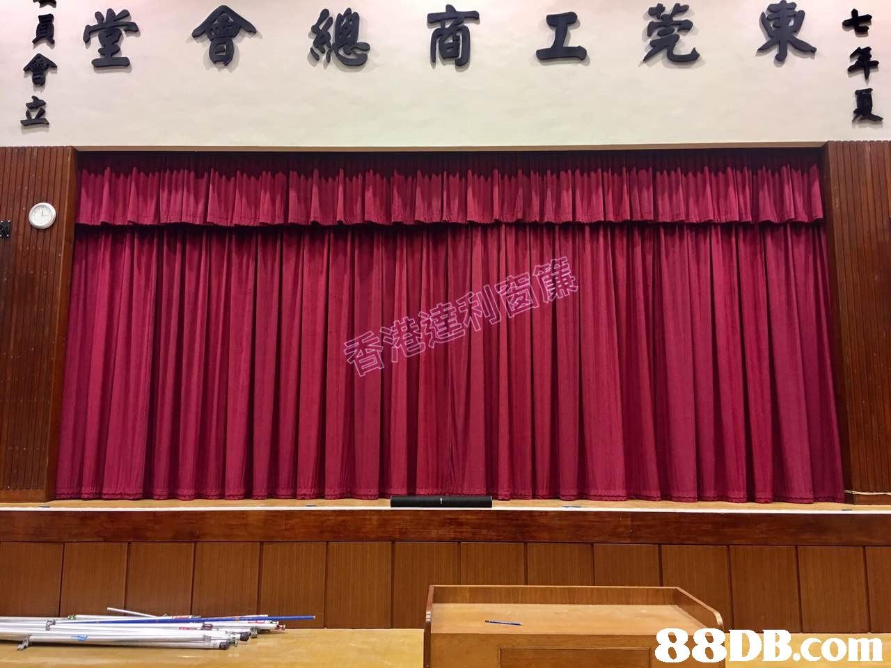 堂會總商工莞東キ   curtain,interior design,window covering,window treatment,textile