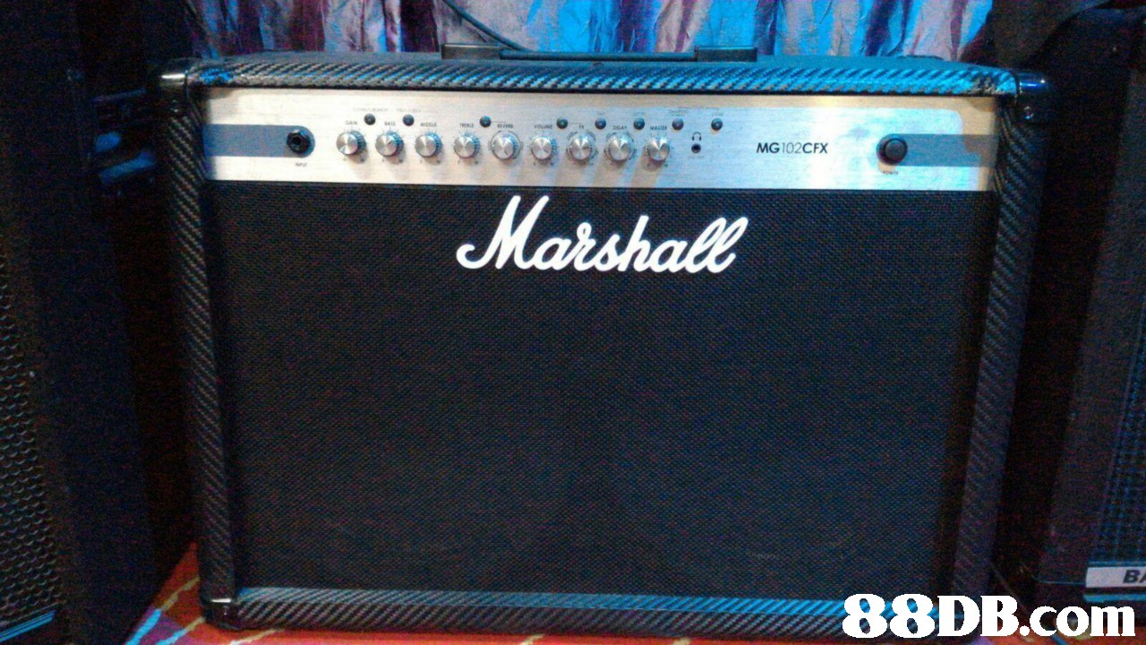 MG102CFX BA,guitar amplifier,electronic instrument,musical instrument,electric blue,sound