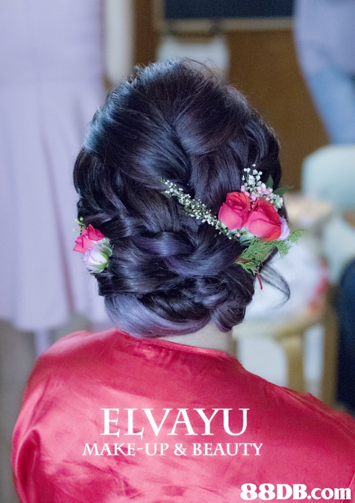 ELVAYU MAKE-UP & BEAUTY,hair,flower,pink,hairstyle,hair accessory