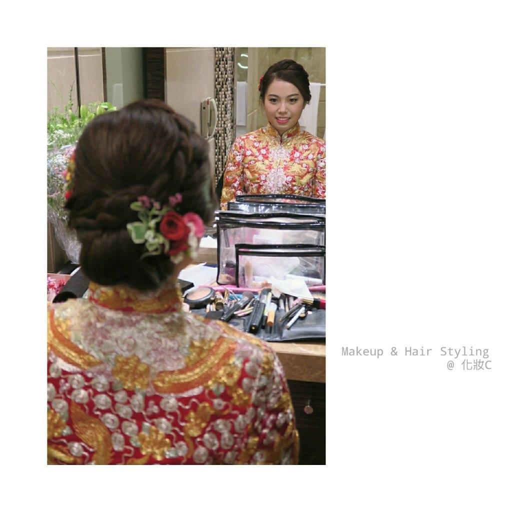 Makeup & Hair Styling @化妝c,kimono,tradition,flower,