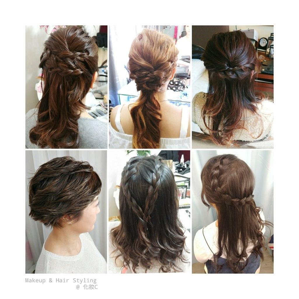 '탤 Makeup & Hair Styling @化妝с,hair,hairstyle,long hair,brown hair,hair coloring