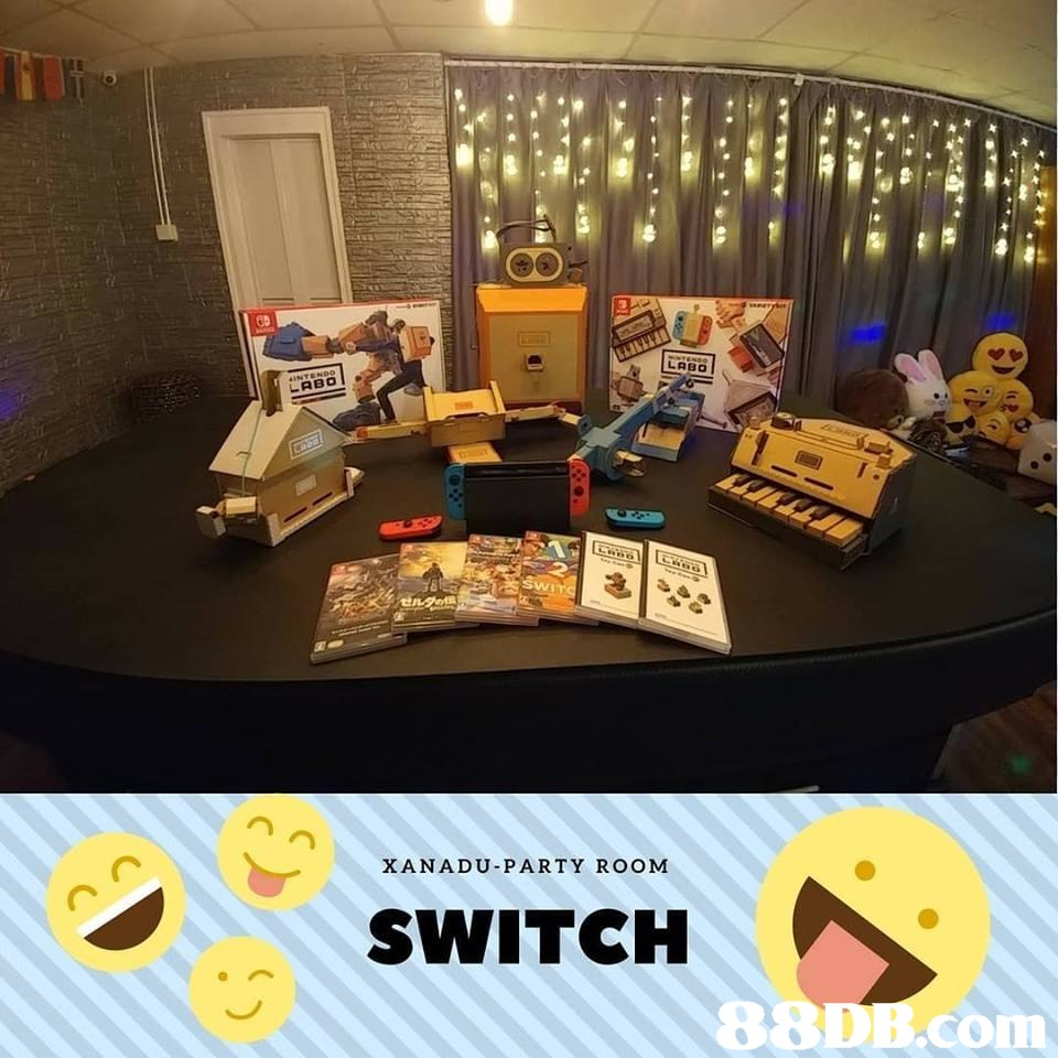 LABO ABO XANADU-PARTY ROOM SWITCH,room,product,
