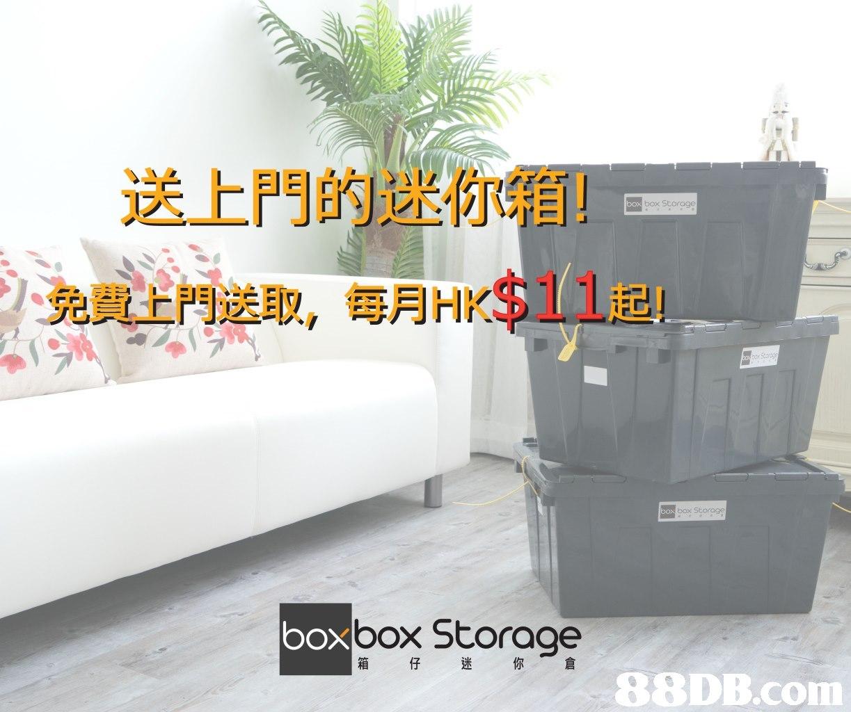 送上門的迷你箱! 免費上門送取,每月HK$11起! box Storage oxbox Storage 箱 迷 你,furniture,product,flowerpot,