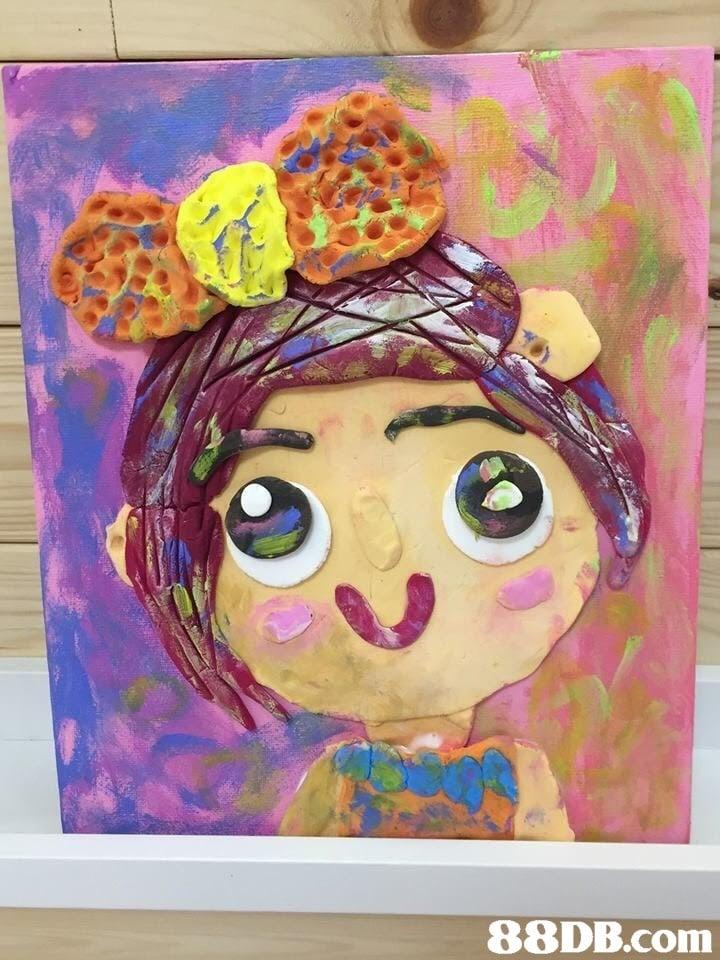 art,pink,painting,modern art,acrylic paint