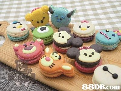 Ken Cake F,baking,dessert,icing,macaroon,muffin