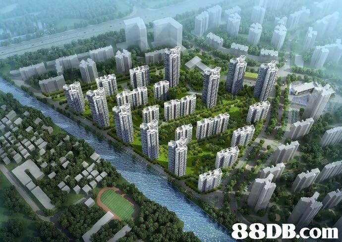 Metropolitan area,Residential area,Bird's-eye view,Urban area,Suburb